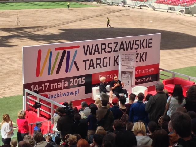 Philip Zimbardo Warszawskie Targi Książki 2015