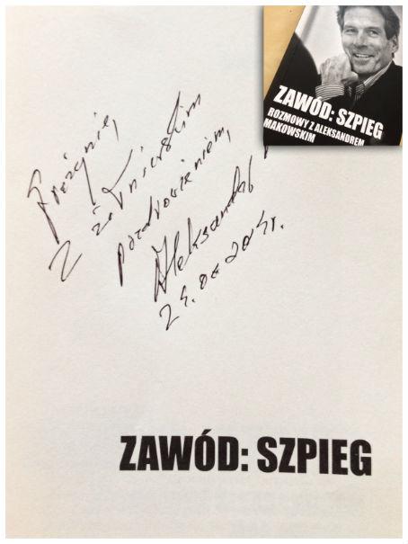 Paweł Reszka Michał Majewski Zawód: Szpieg Warszawskie Targi Książki 2014
